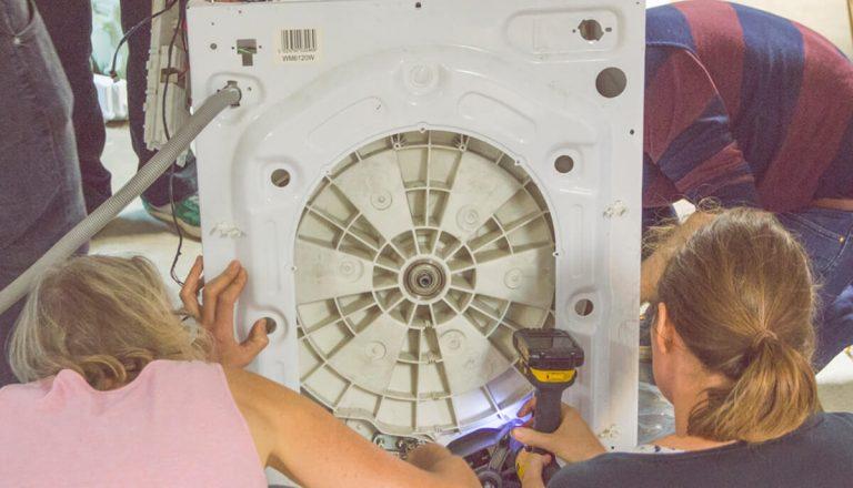 Repurposing a washmachine
